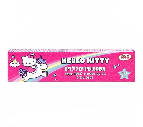 7290014426061 Hello Kitty Toothpaste הלו קיטי משחת שיניים לילדים בגיל 2-6