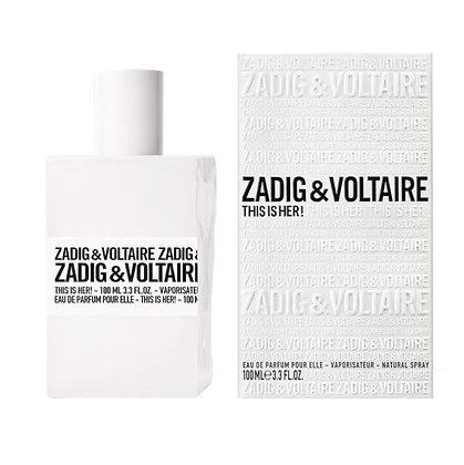 ZADIG&VOLTAIRE זאדיג אנד וולטר דיס איז בושם נשים. women perfume