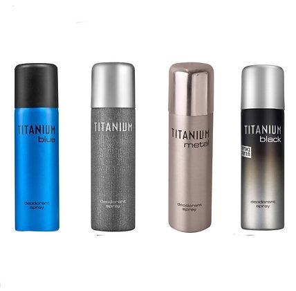 Careline Titanium טיטניום דאודורנט ספריי לגבר