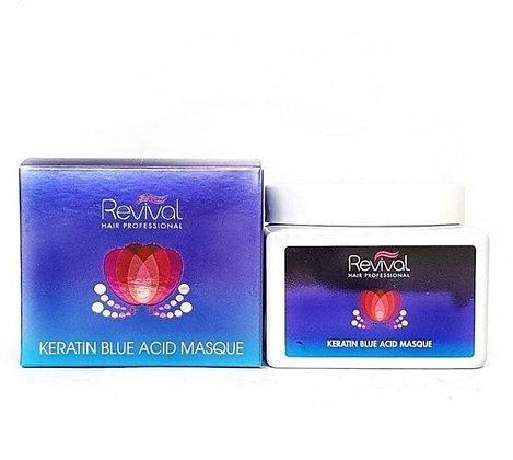 Revival hai mask רביבל מסיכת שיער קרטין וחומצה כחולה 7290015046770