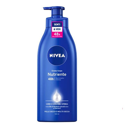 NIVEA body milk ניוואה תחליב גוף לעור יבש   4005808702107