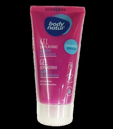 Body Natur בודי נטור ג'ל דפילטור להסרת שיער. מוצרי טיפוח גוף לאישה