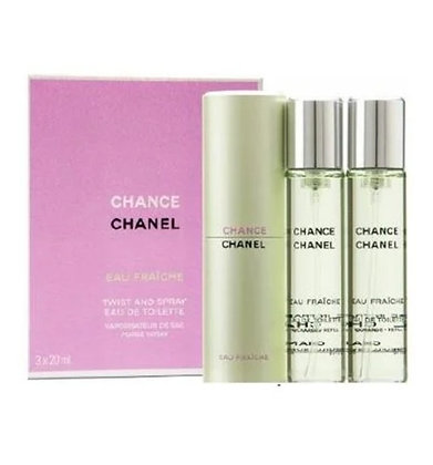 3145891361001 Chanel Chance שאנל צ'אנס מארז שלישיית בשמים בושם לאישה