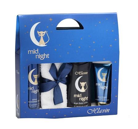 7296179021714  hlavin mud night women gift set חלאבין מיד נייט סט מתנה לאישה תכשירי ויפוח