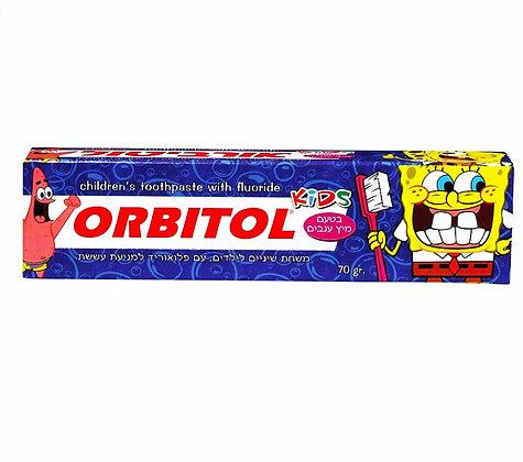 7290011765446 Orbitol tootpaste אורביטול משחת שיניים לילדים