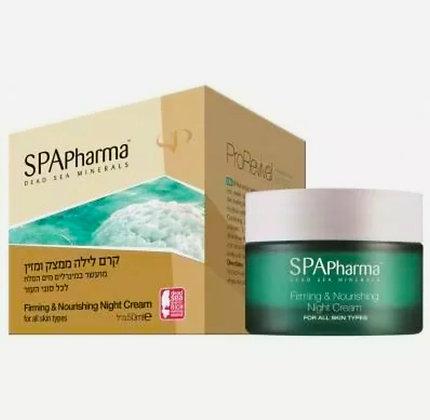 SPApharma   ספא פארמה קרם לילה ממצק ומזין לפנים 8001359108340