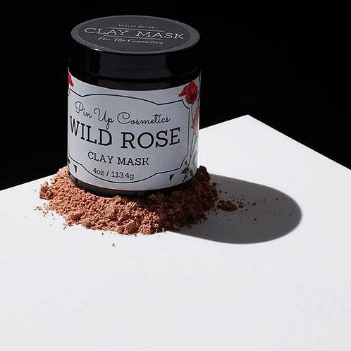 Pin Up Cosmetics Wild Rose Clay Mask