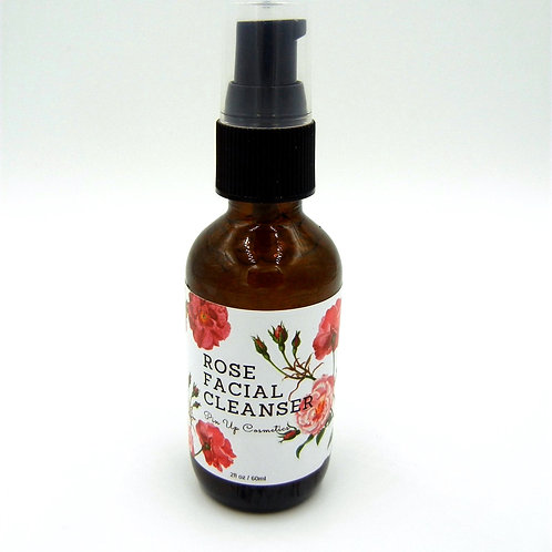 Pin Up Cosmetics Rose Facial Cleanser