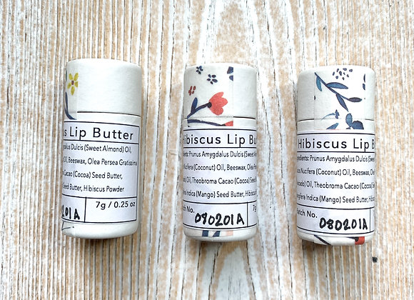 Hibiscus Lip Butter