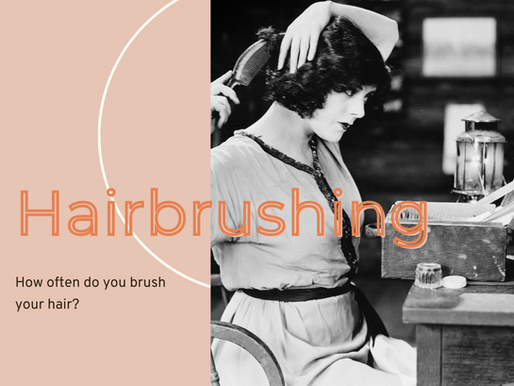 3 Reasons You Should Be Brushing Your Hair.