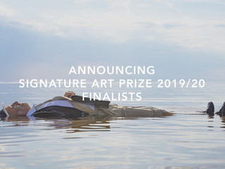 Announcing the Signature Art Prize 2019/20 Finalists