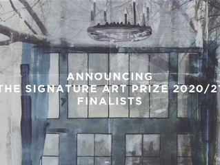 Announcing the Signature Art Prize 2020/21 Finalists
