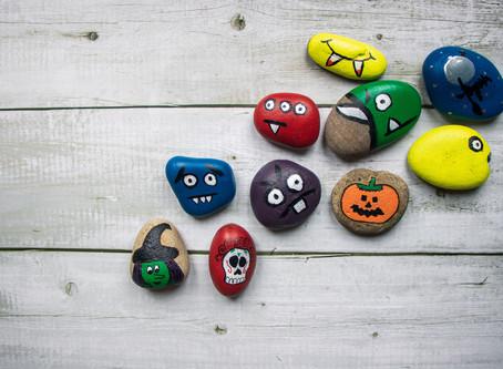 Half-Term Spooky Stone Hunt!
