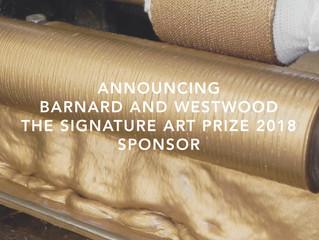 Announcing Barnard & Westwood | Art Prize Sponsors