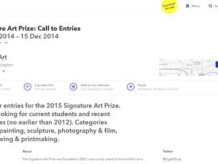 Featured on 'ArtRabbit' - The Signature Art Prize
