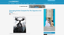 Featured on 'The Londonist' - The Signature Art Prize