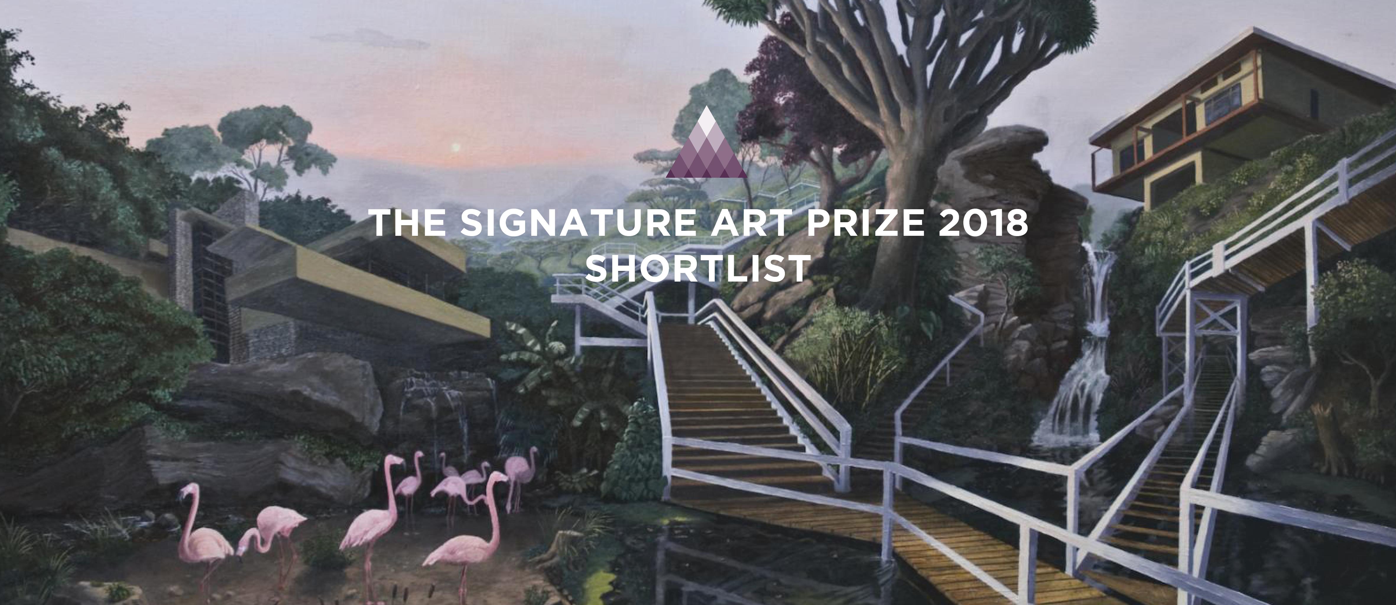 Announcing The Signature Art Prize 2018 Shortlist