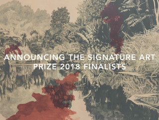 Announcing the Signature Art Prize 2018 Finalists