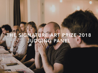 The Signature Art Prize 2018 Judging Panel