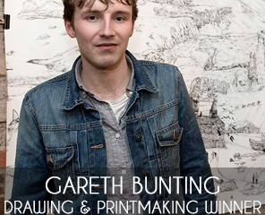 Gareth Bunting on Winning the Drawing & Printmaking Category of the Signature Art Prize 2015