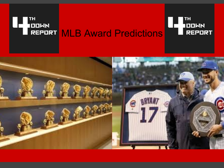 2020 MLB Season Award Predictions