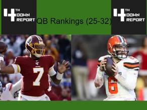 Ranking all 32 Starting NFL Quarterbacks (25-32)