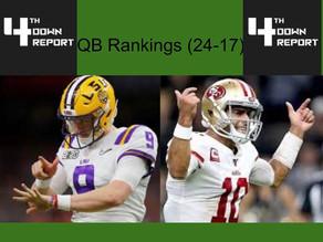 Ranking all 32 Starting NFL Quarterbacks (17-24)