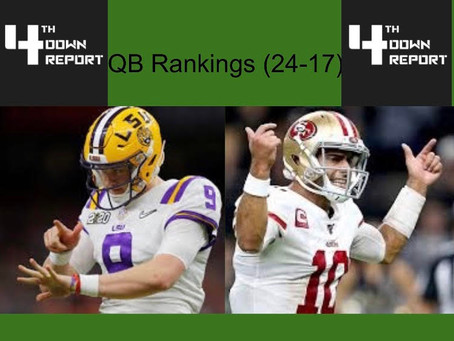 Ranking all 32 Starting NFL Quarterbacks (17-24)