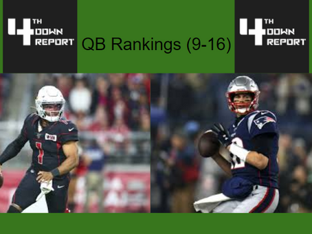 Ranking all 32 Starting NFL Quarterbacks (9-16)