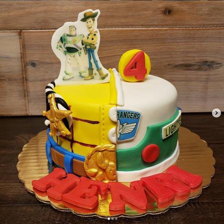 3-D Custom Cakes