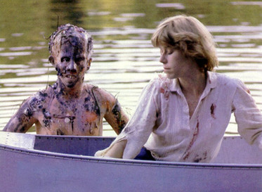 friday the 13th film with the monster coming out of lake to get girl