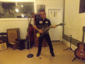 Guitar in sun Studios