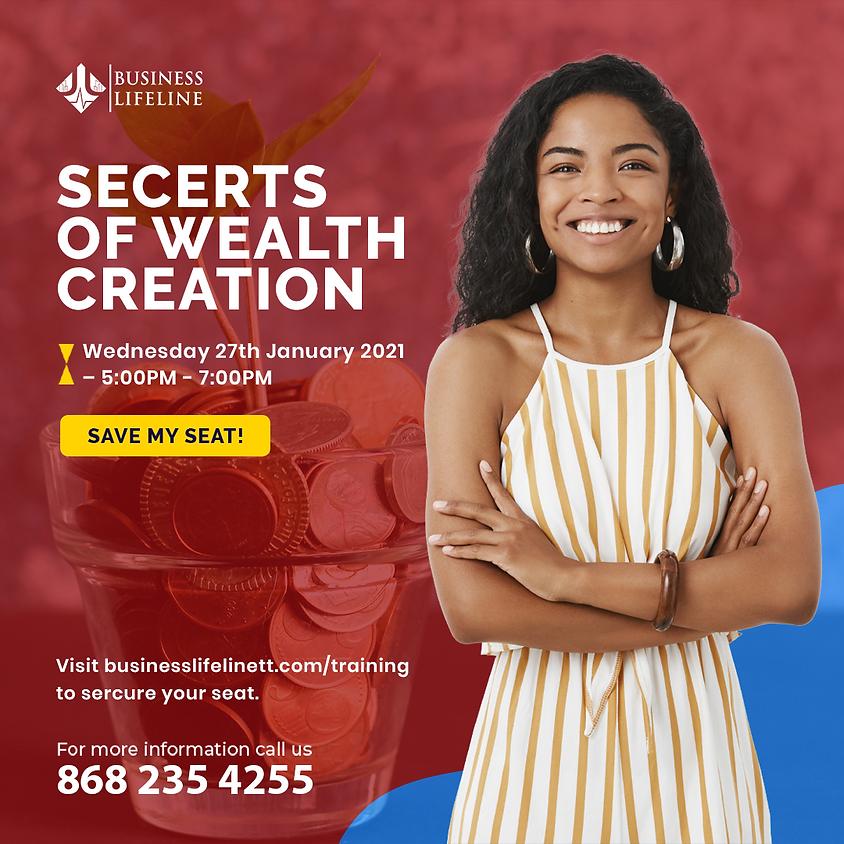 Secrets of Wealth Creation