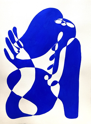 Blue shapes 2