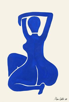 Blue nude 2