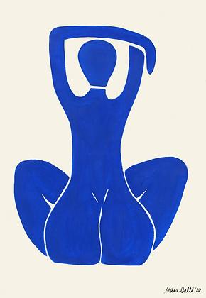 Blue nude 1