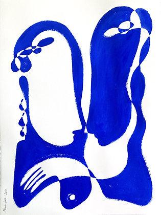 Blue Shapes 3