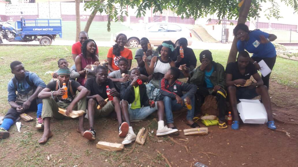 27.09.2017 Yaounde - Enfants de la rue