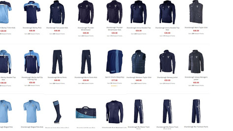 Get your new gear for the new season