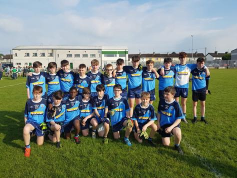 U14 boys share spoils in highly entertaining encounter with Mullingar Shamrocks