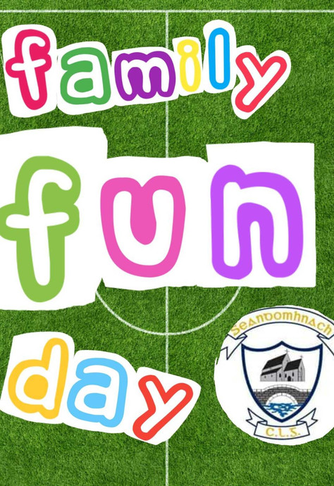 Shandonagh Family Fun Day - Sunday the 16th of September  2018