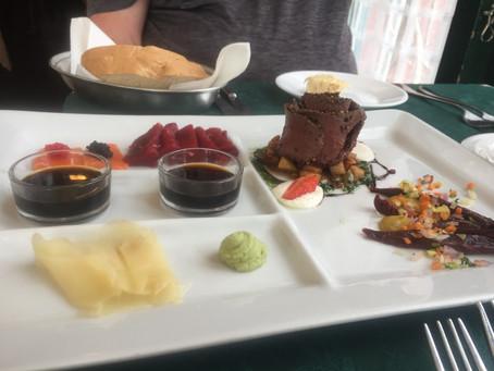 Sampling New Foods in Iceland