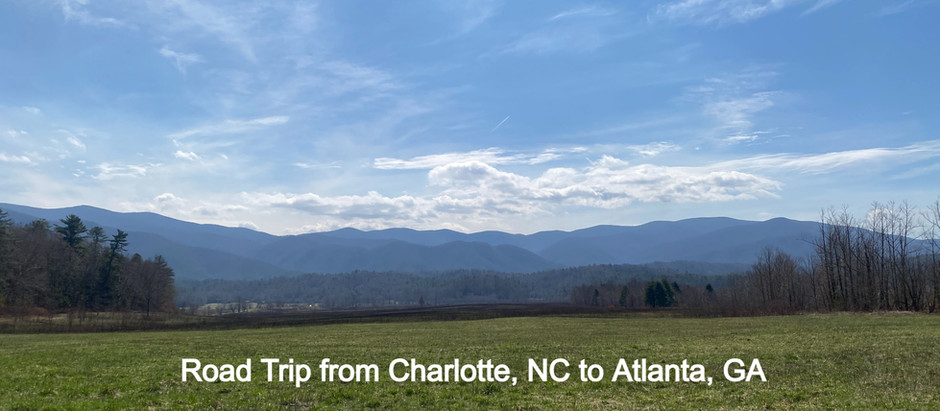 Road Tripping from Charlotte, NC to Atlanta, GA