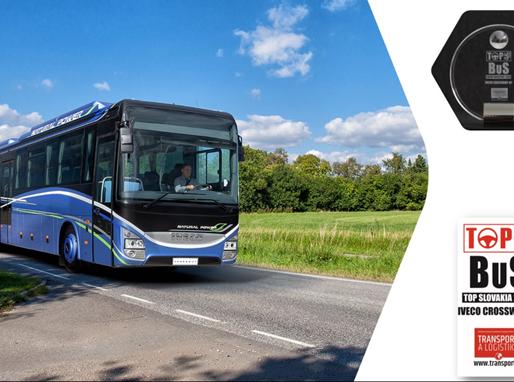 CROSSWAY NATURAL POWER autobusi atzīti par labākajiem Eiropā