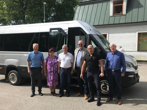 IVECO BUS GALAXY INTERIORS - kārtējais mikroautobuss nonācis pie jauna īpašnieka:)