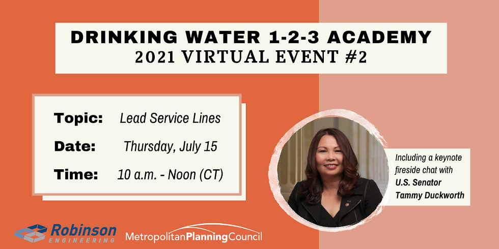 Drinking Water 1-2-3 Academy Virtual Event #2: Lead Service Lines