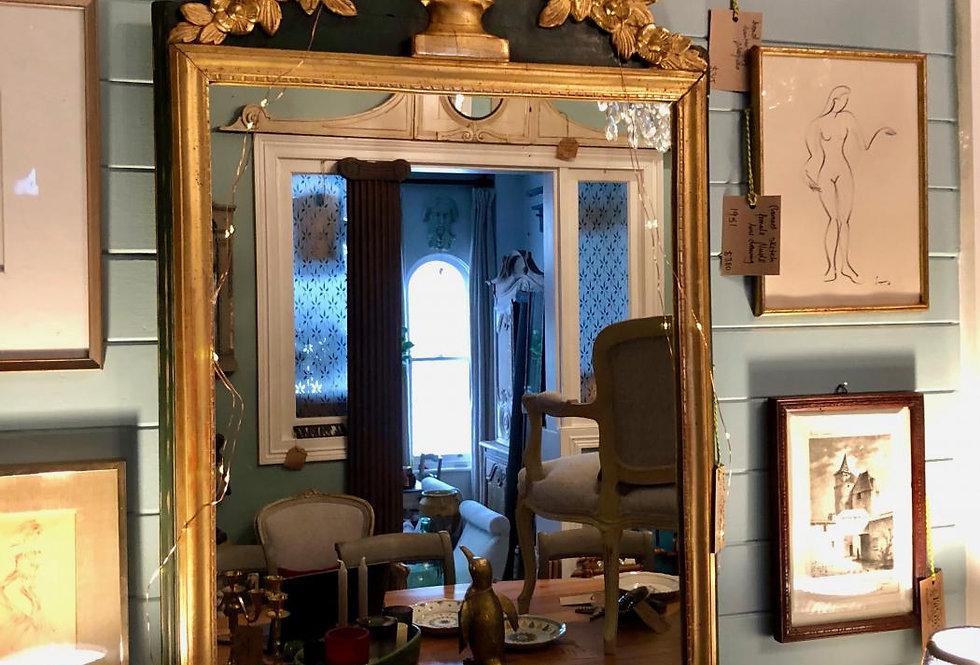 Gilded Urn Mirror