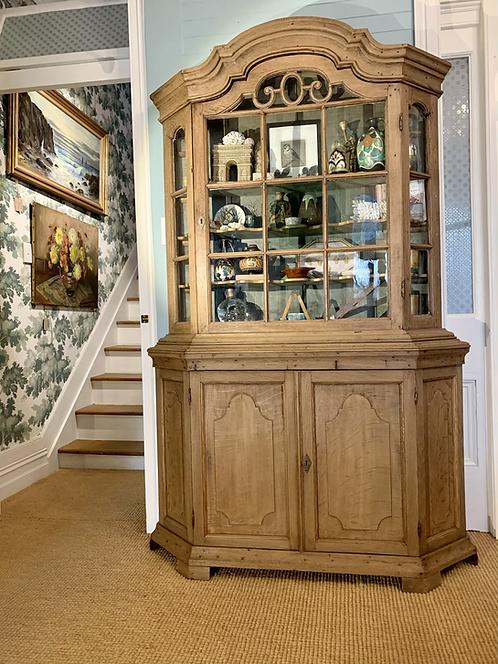Antique Belgian Display Cabinet
