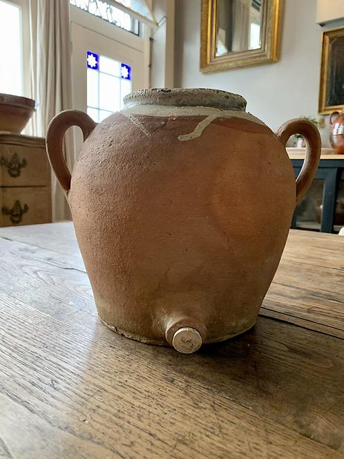 Earthenware water vessel