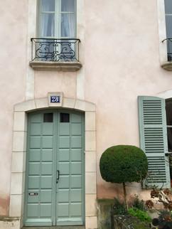 Front door perfection
